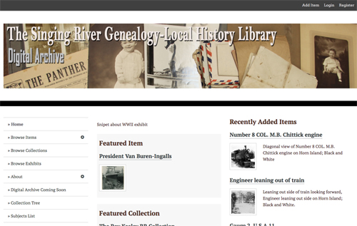 Digital Archives Collection